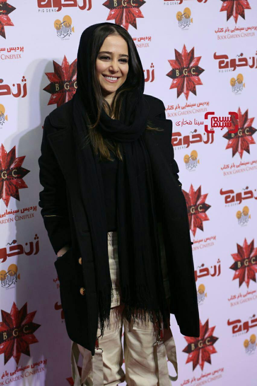 الناز حبیبیاکران خصوصی فیلم «ژن خوک»/ گزارش تصویری