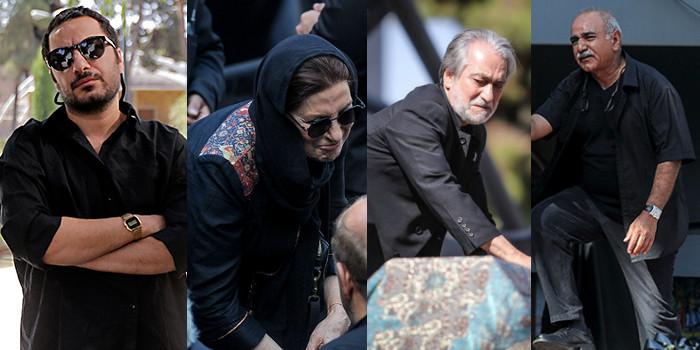 مراسم تشییع پیکر عزت الله انتظامی/ گزارش تصویری 2