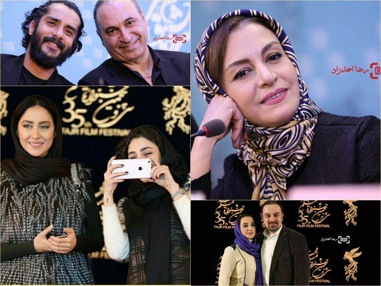 گزارش تصویری اکران و نشست های روز نهم جشنواره فجر 35