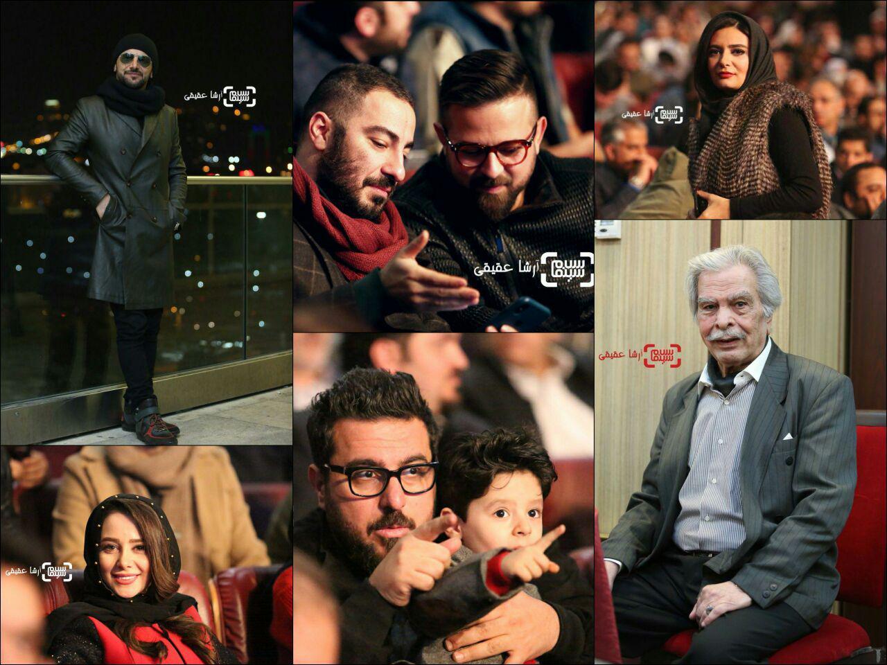افتتاحیه سی و ششمین جشنواره فیلم فجر/ گزارش تصویری
