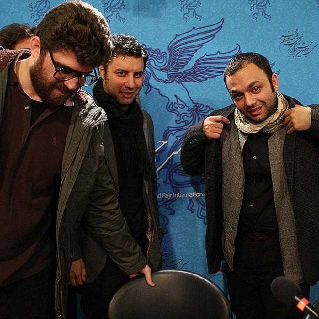 صابر ابر و جواد عزتی سی و دومین جشنواره فیلم فجر