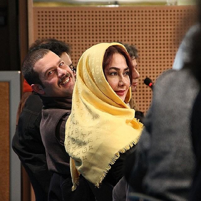 آنا نعمتی و پژمان بازغی انارهای نارس جشنواره فیلم فجر