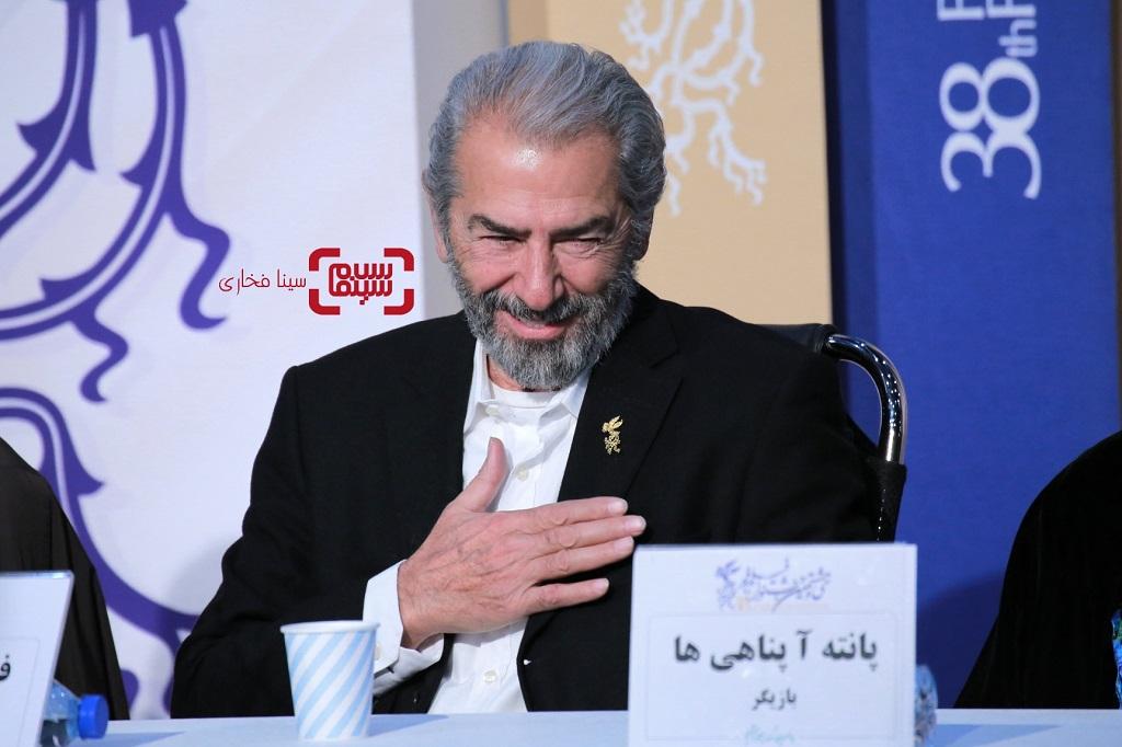فرامرز قریبیان - گزارش تصویری - نشست خبری فیلم «خروج» - جشنواره فیلم فجر 38