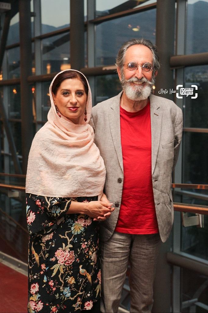 عکس فرهاد آئیشو همسرشمائده طهماسبی در افتتاحیه هفتمین جشنواره فیلم شهر