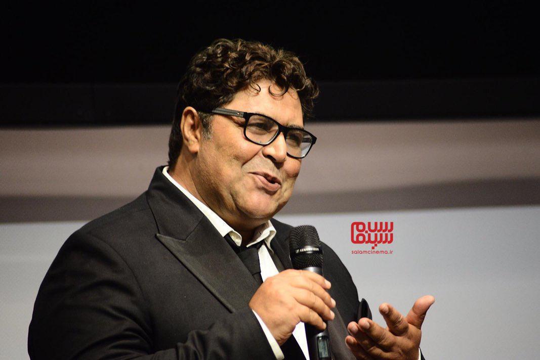 عکس فرهاد اصلانی در اکران فیلم «متری شیش و نیم» در جشنواره فیلم ونیز 2019
