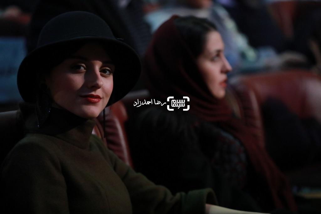 فاطمه مسعودی فر - اختتامیه جشنواره فیلم فجر 38 - گزارش تصویری(بخش دوم)