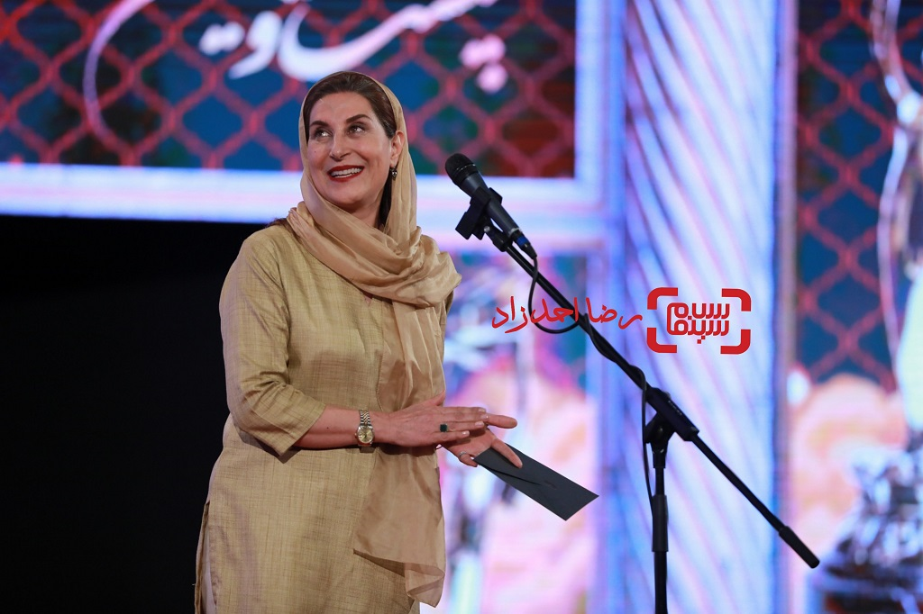فاطمه معتمدآریا / بیست و یکمین جشن خانه سینما/ گزارش تصویری 2