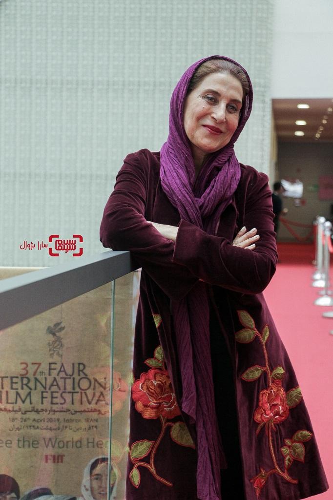 فاطمه معتمدآریا روز دوم سی و هفتمین جشنواره جهانی فیلم فجر