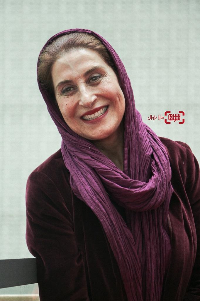 عکسفاطمه معتمدآریادر روز دوم سی و هفتمین جشنواره جهانی فیلم فجر