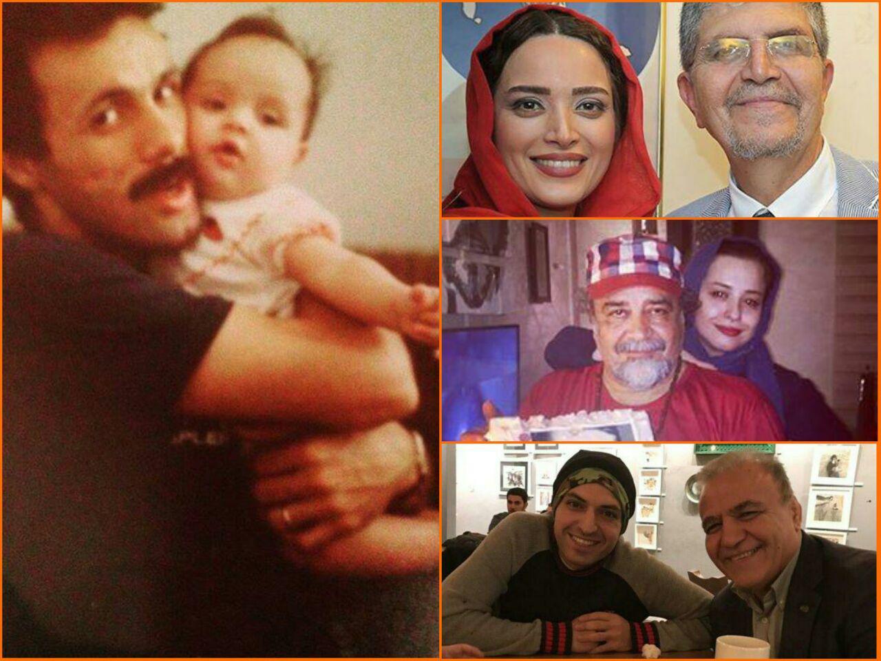 گزارش تصویری و ویدیویی اینستاگرامی روز مرد و پدر بازیگران و هنرمندان