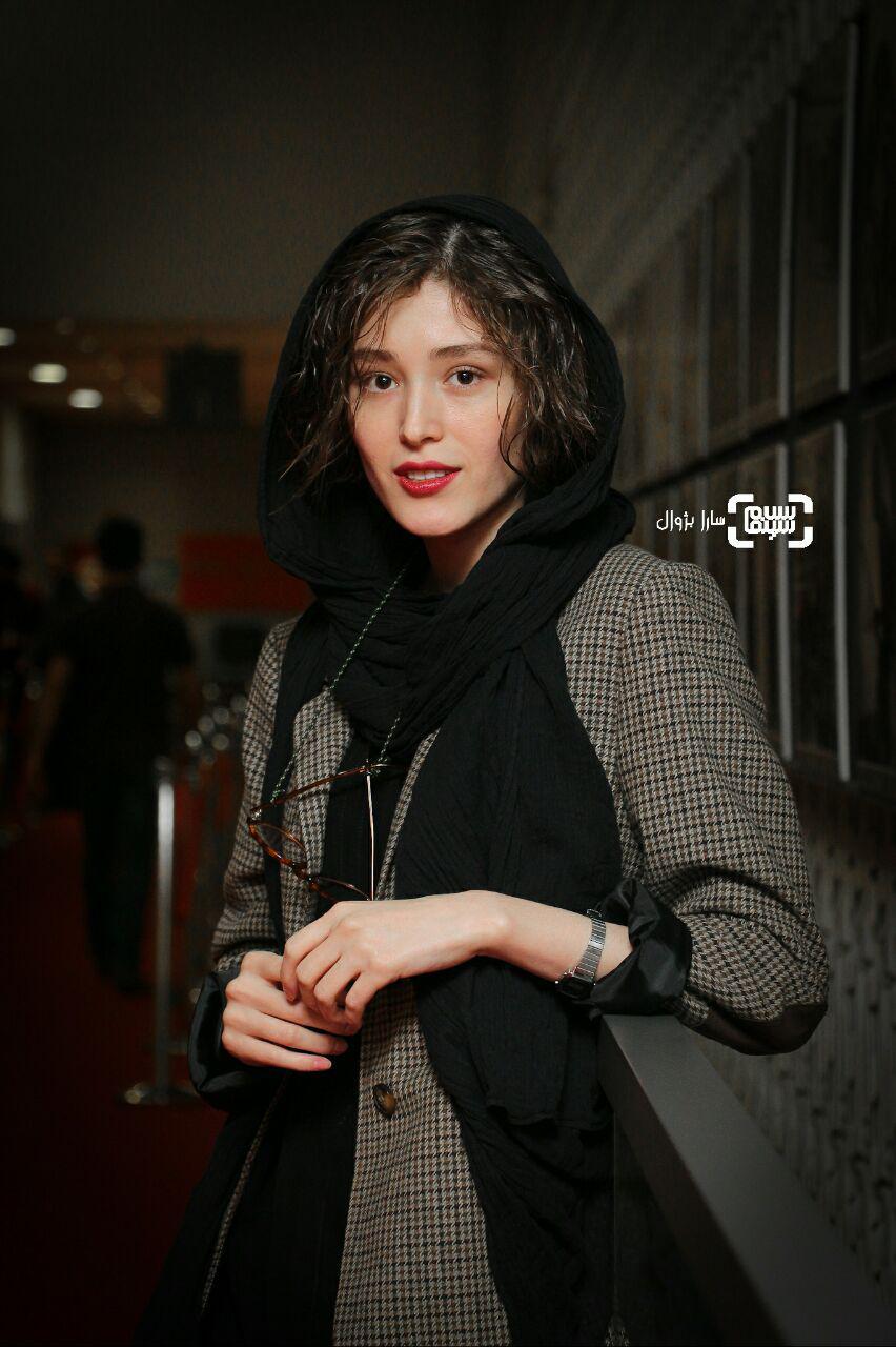 عکس فرشته حسینی در روز ششم سی و هفتمین جشنواره جهانی فیلم فجر