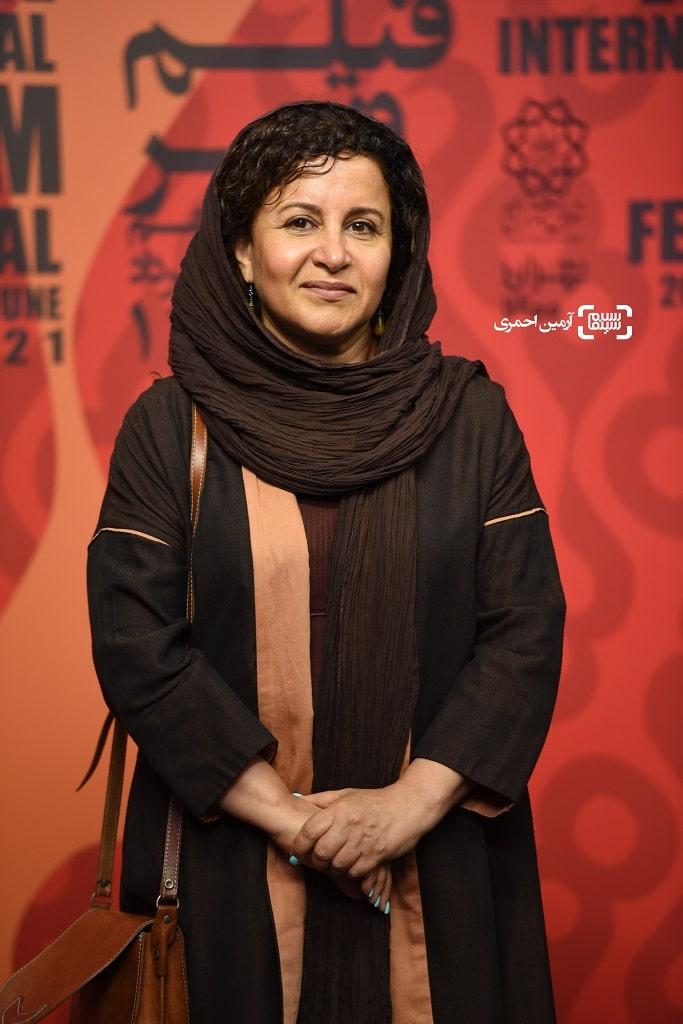 فرشته صدر عرفایی - اکران شهربانو در چارسو - سی و هشتمین جشنواره جهانی فیلم فجر