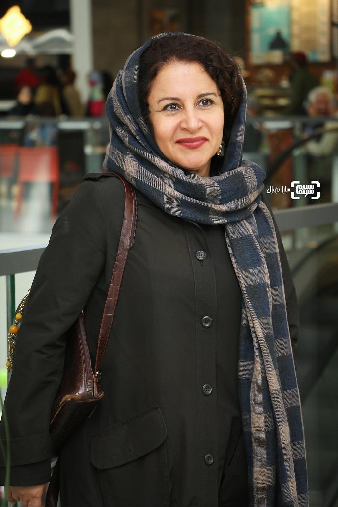 عکس فرشته صدرعرفاییدر روز پنجم سی و هفتمین جشنواره جهانی فیلم فجر