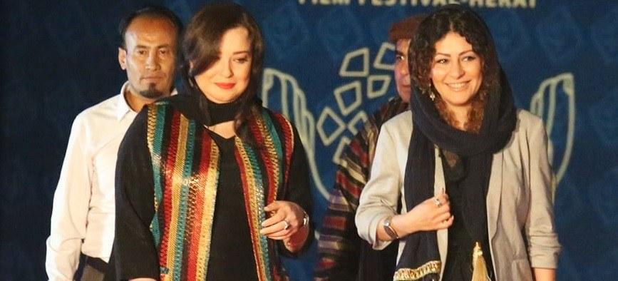 مهراوه شریفی نیا و رخشان بنی اعتماد در جشنواره افغانستان