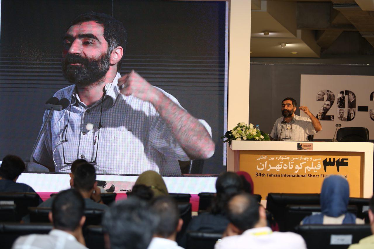 هادی مقدم دوست در سی و چهارمین جشنواره فیلم کوتاه تهران