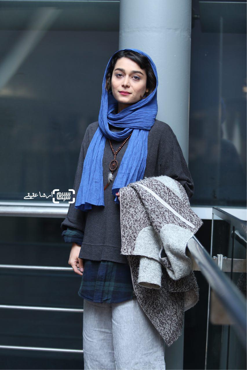 معصومه ایل بیگی در سی و چهارمین جشنواره فیلم کوتاه تهران