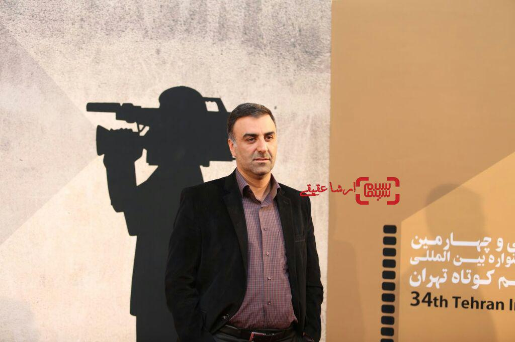 ابراهیم داروغه زاده سی و چهارمین جشنواره فیلم کوتاه تهران