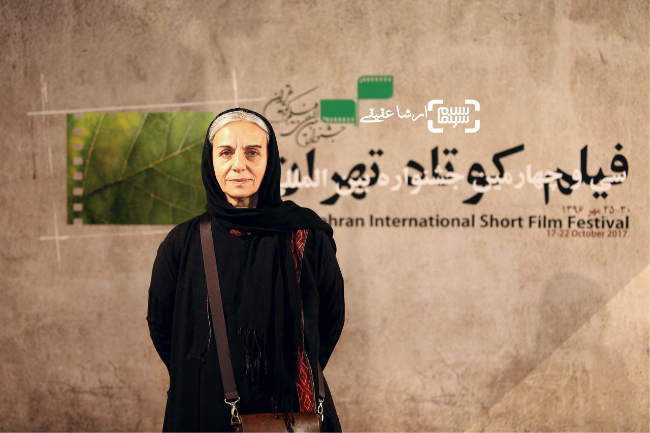 مریم بوبانی در سی و چهارمین جشنواره فیلم کوتاه تهران