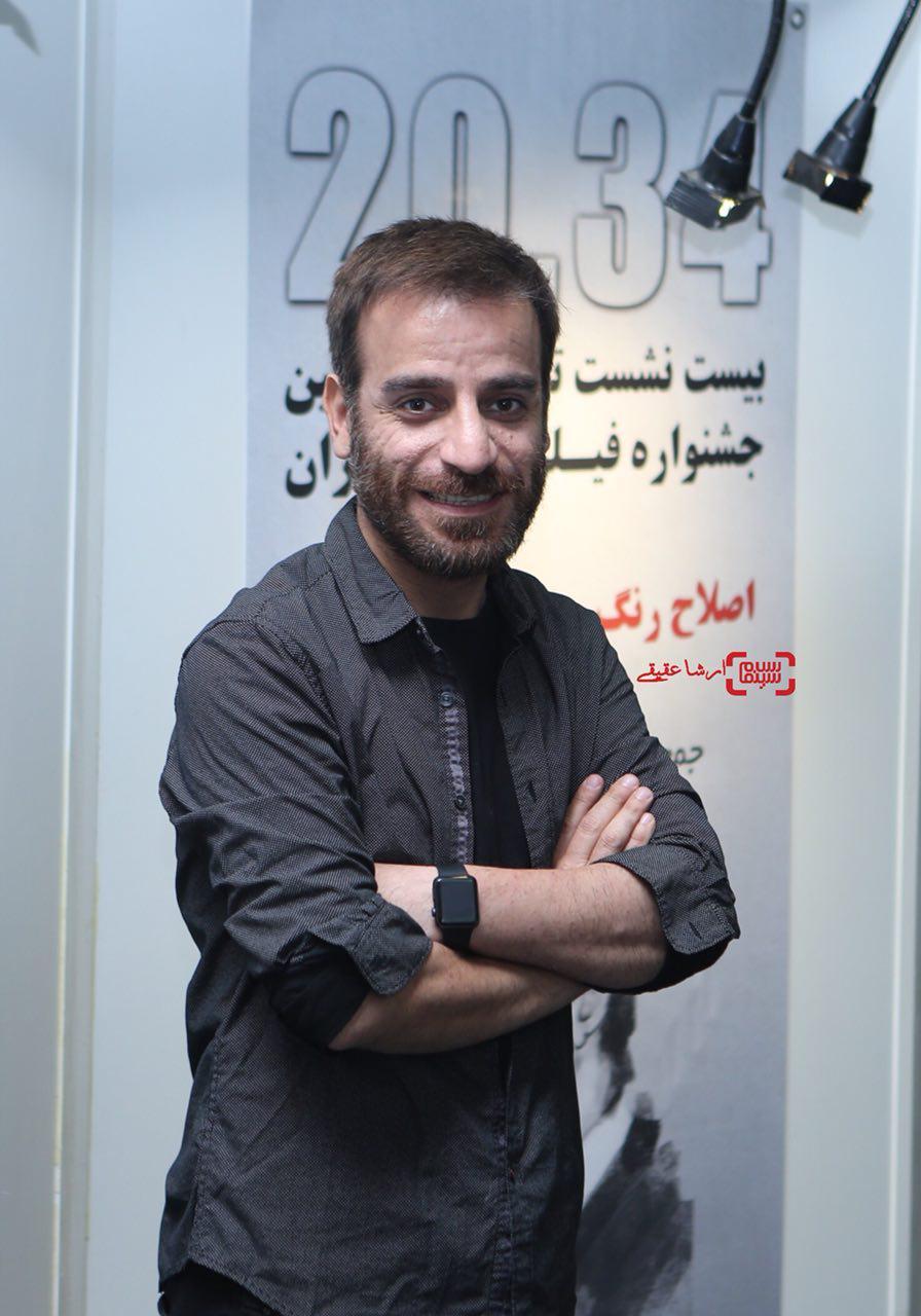 شهرام مکری در سی و چهارمین جشنواره فیلم کوتاه تهران