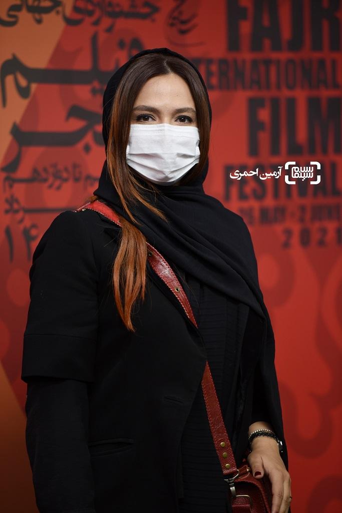 گلاره عباسی - سی و هشتمین جشنواره جهانی فیلم فجر - اکران شهربانو - چارسو