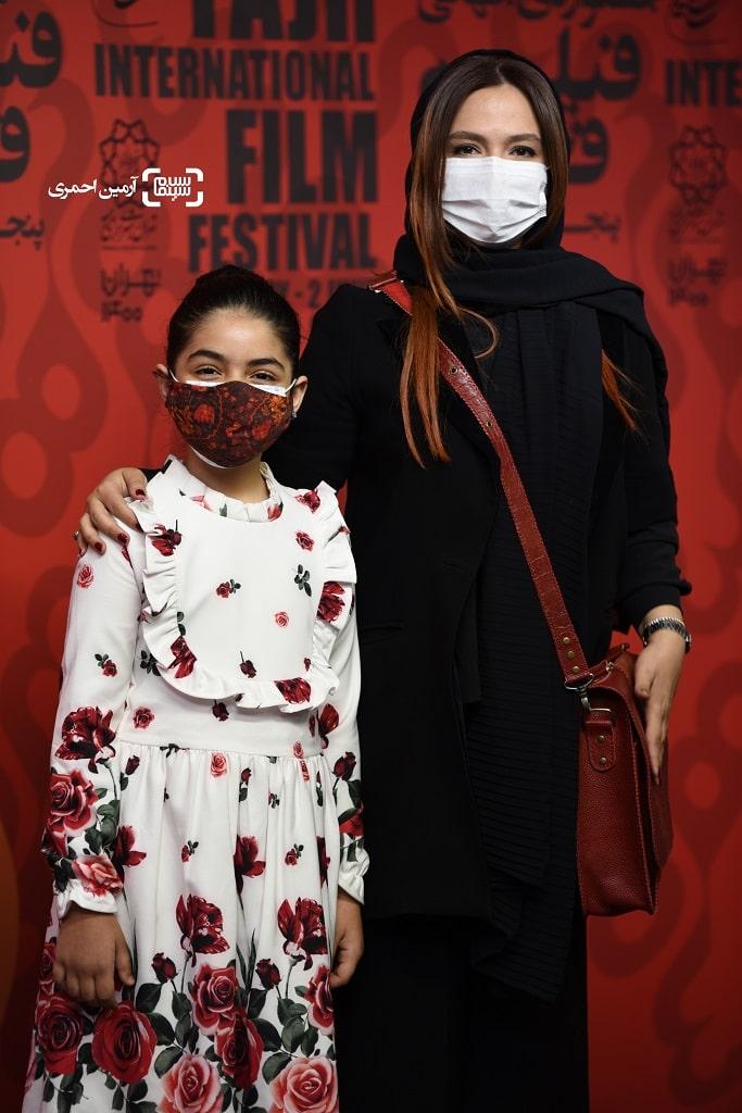 گلاره عباسی - ترنم کاظمی - اکران شهربانو - سی و هشتمین جشنواره جهانی فیلم فجر