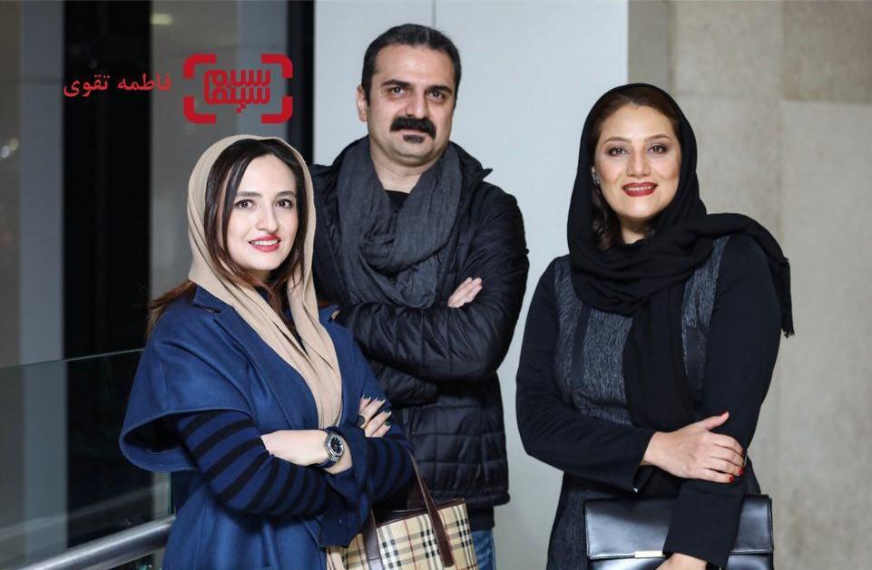 گلاره عباسی، شبنم مقدمی و علیرضا آرا در افتتاحیه فیلم «کلمبوس»