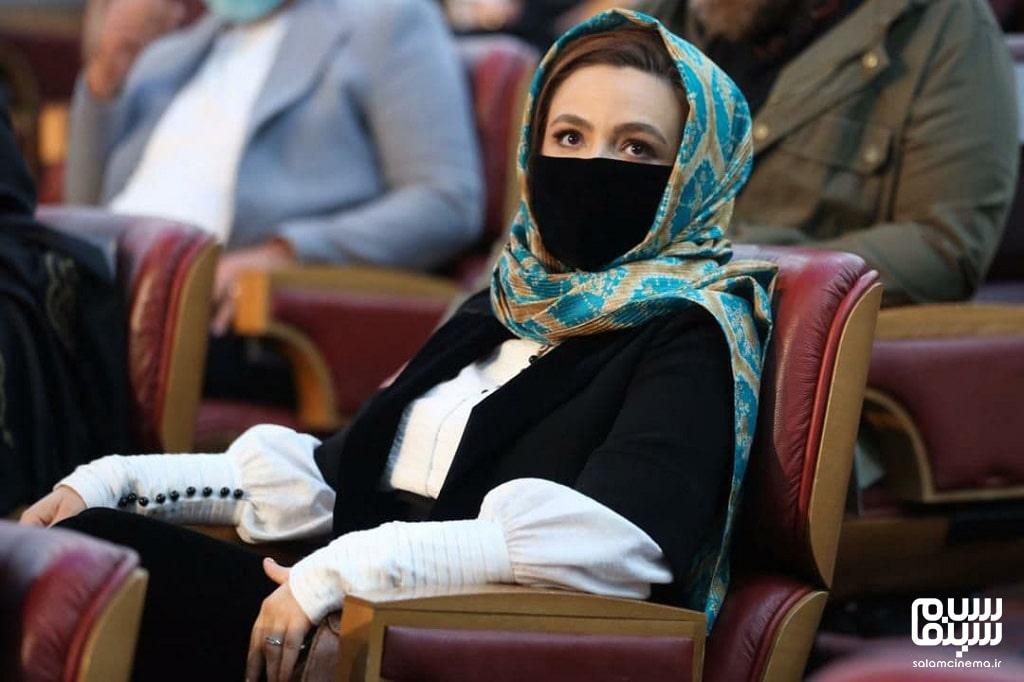 گلاره عباسی در اختتامیه جشنواره فیلم فجر