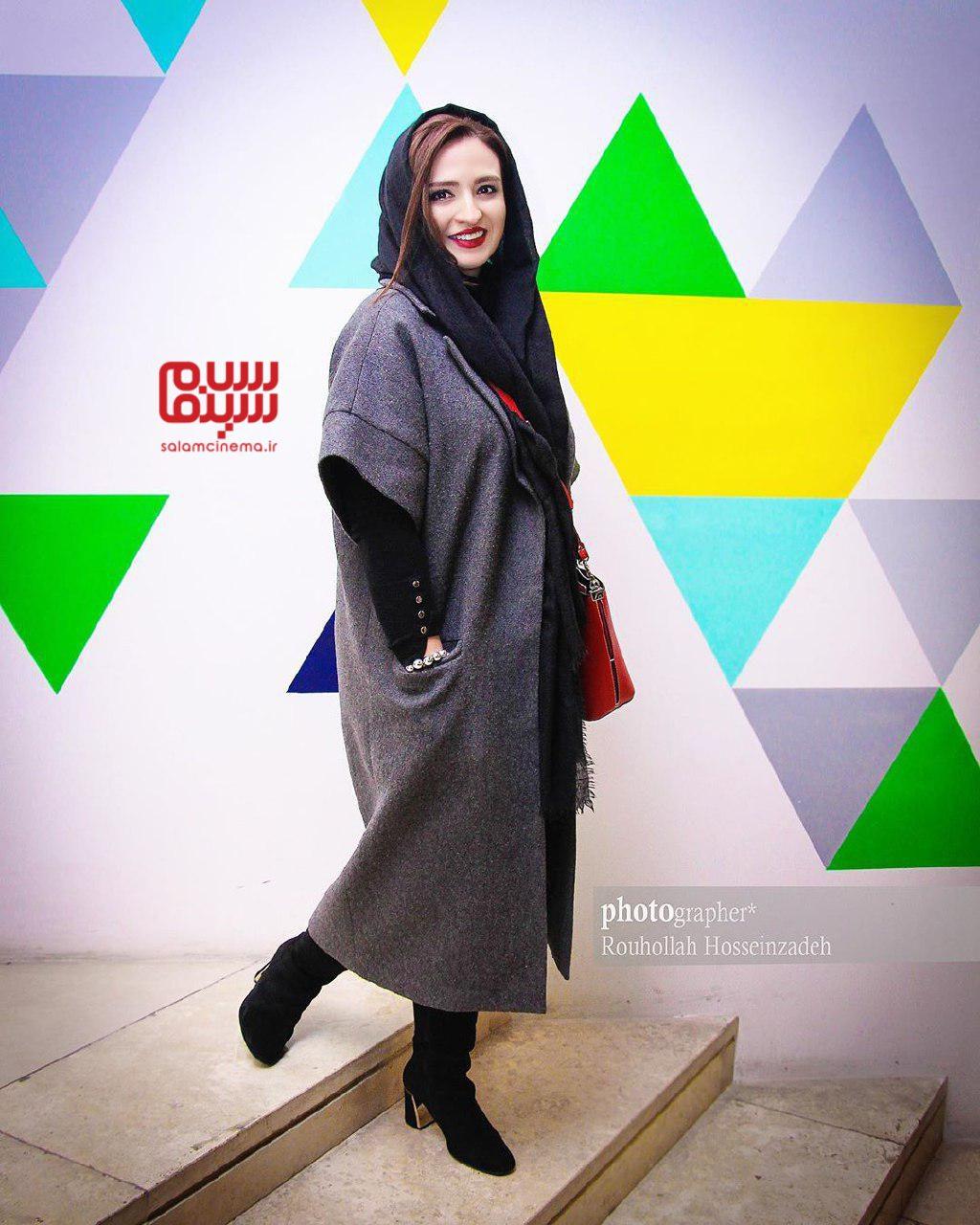 گلاره عباسی - اکران خصوصی فیلم «خداحافظ دختر شیرازی»-گزارش تصویری