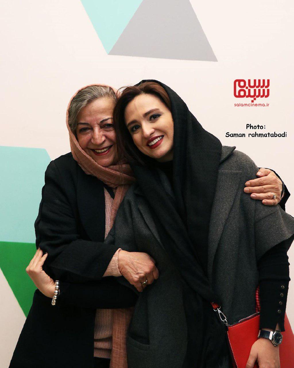 گلاره عباسی و مرضیه برومند - اکران خصوصی فیلم «خداحافظ دختر شیرازی»-گزارش تصویری