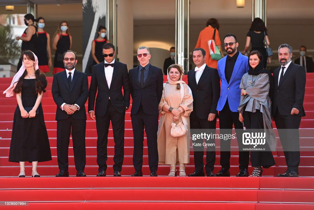 حضور عوامل فیلم قهرمان در جشنواره فیلم کن 2021 - سلام سینما