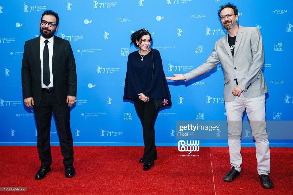 مریم مقدم - بهتاش صناعی ها -  اکران فیلم  قصیده گاو سفید - جشنواره فیلم برلین