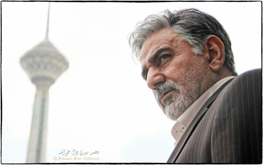 رونمايى از گريم پرويز پرستويى در فيلم مسعود كيميايى