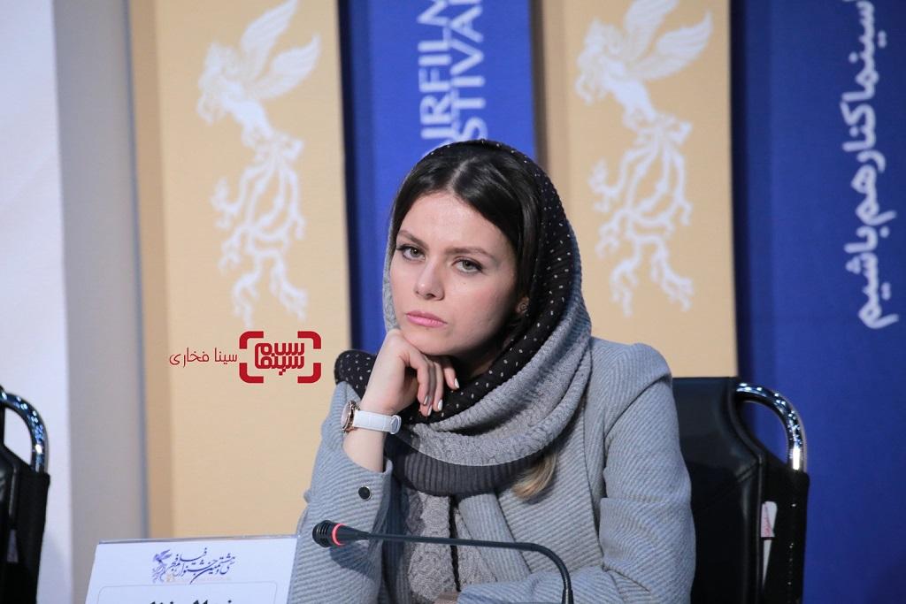 غزال نظر - گزارش تصویری - نشست خبری فیلم «شین» - جشنواره فیلم فجر 38