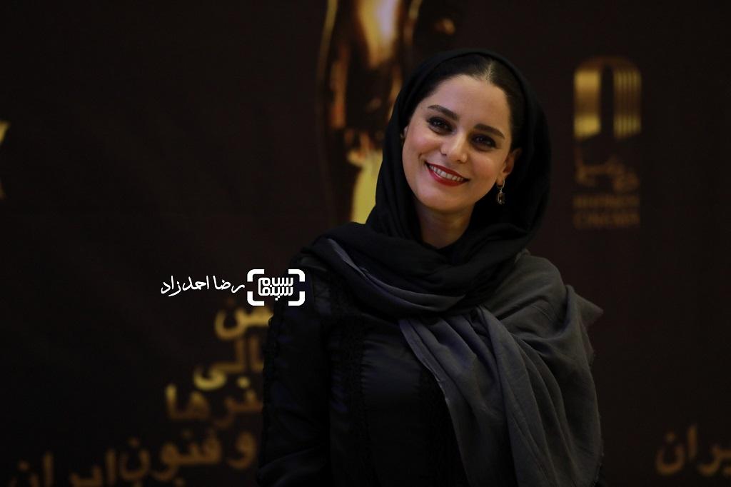 غزل شاکری/ بیست و یکمین جشن خانه سینما/ گزارش تصویری 2