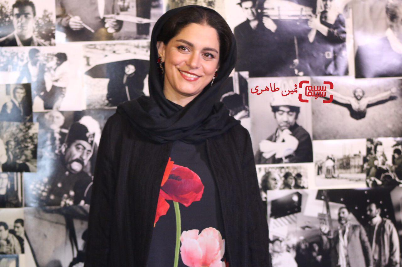 غزل شاکری در سومین جشن عکاسان سینمای ایران