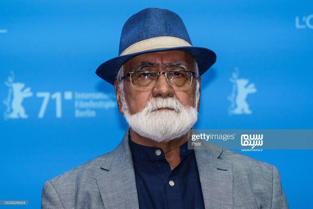 غلامرضا موسوی در اکران فیلم سینمایی قصیده گاو سفید در جشنواره فیلم برلین