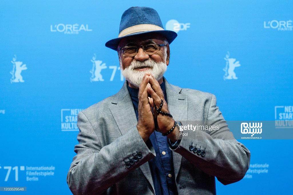 غلامرضا موسوی در اکران فیلم  قصیده گاو سفید در جشنواره فیلم برلین