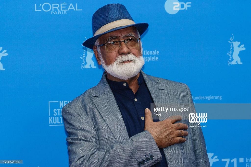 غلامرضا موسوی در اکران  قصیده گاو سفید در جشنواره فیلم برلین