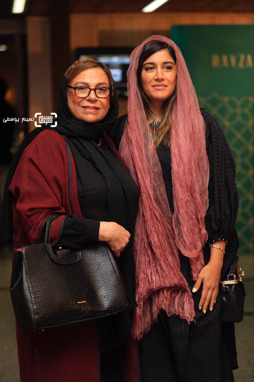 گوهر خیراندیش و دخترش آزاده اسماعیل خانی - پنجمین جشن عکاسان سینمای ایران/ گزارش تصویری