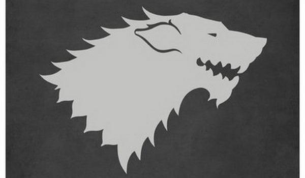 شعار خاندان های بازی تاج و تخت-خاندان استارک