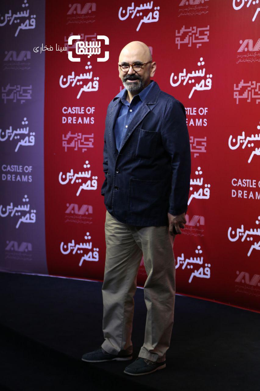 عکس حبیب رضایی در اکران خصوصی فیلم «قصر شیرین»