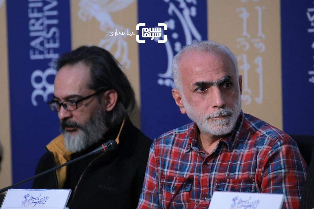 حبیب والی نژاد- گزارش تصویری - نشست خبری فیلم «خروج» - جشنواره فیلم فجر 38