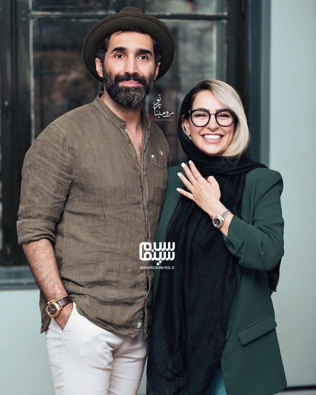 هادی کاظمی - سمانه پاکدل - افتتاحیه نمایشگاه عکس برزخ