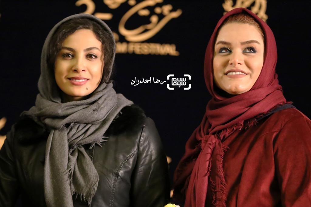 گزارش تصویری اکران و نشست فیلم «دریاچه ماهی» در جشنواره فجر 35