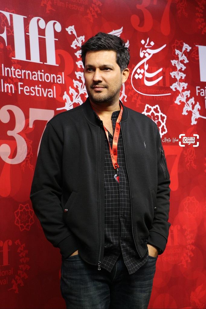 عکس حامد بهداددر روز ششم سی و هفتمین جشنواره جهانی فیلم فجر