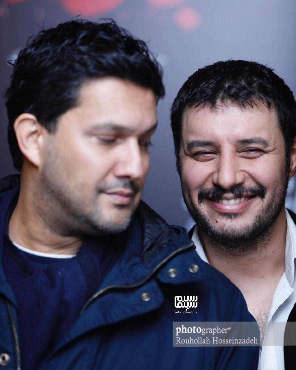 حامد بهداد - جواد عزتی -گزارش تصویری هفتگی