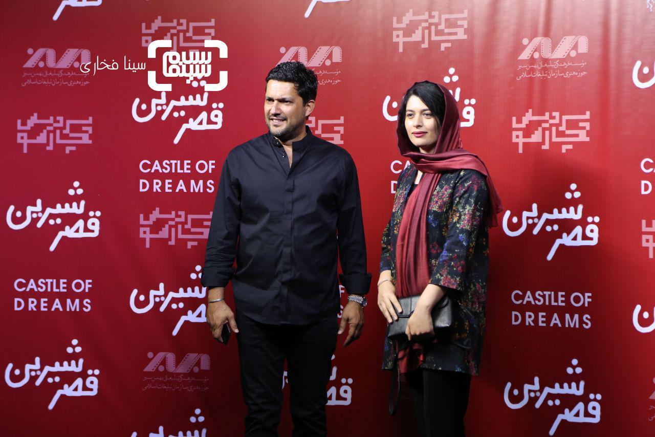 عکس ژیلا شاهی و حامد بهداد در اکران خصوصی فیلم «قصر شیرین»