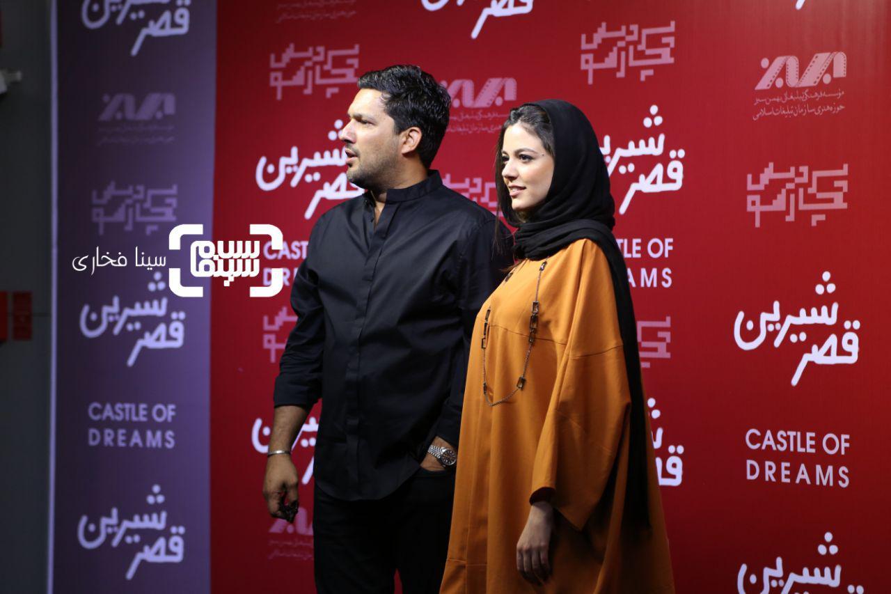 عکس ماهور الوندو حامد بهداد در اکران خصوصی فیلم «قصر شیرین»