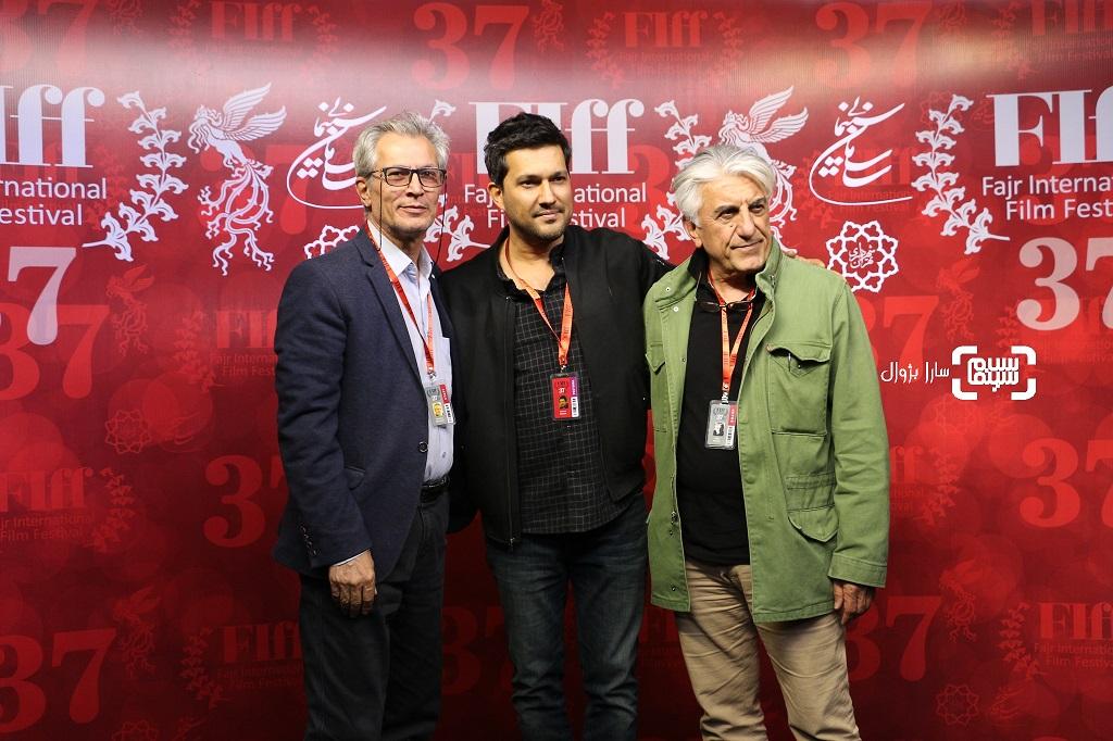 عکس حامد بهدادورضا کیانیاندر روز ششم سی و هفتمین جشنواره جهانی فیلم فجر