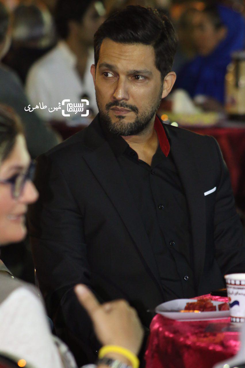 حامد بهداد در سومین جشن عکاسان سینمای ایران